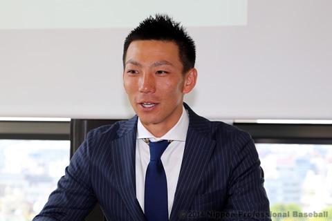 嶋基宏日本プロ野球選手会会長(東北楽天)